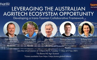 Leveraging the Australian Agritech Ecosystem Opportunity – Join this Virtual Session at the BOMA NZ Ag Summit